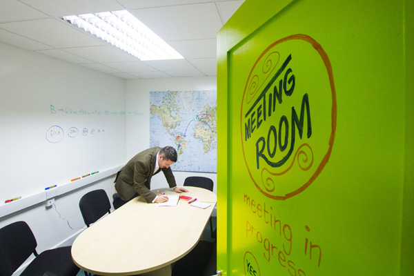 Whiteboard Paint Meeting Room   Smarter Surfaces
