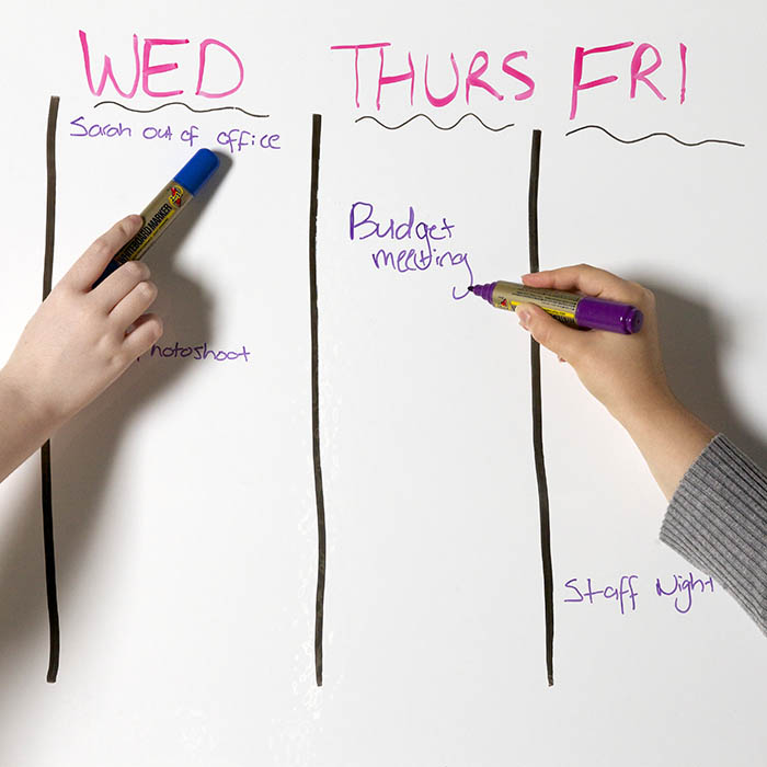Dry Erase Surfaces: Whiteboards or Whiteboard Paint - Smarter Surfaces
