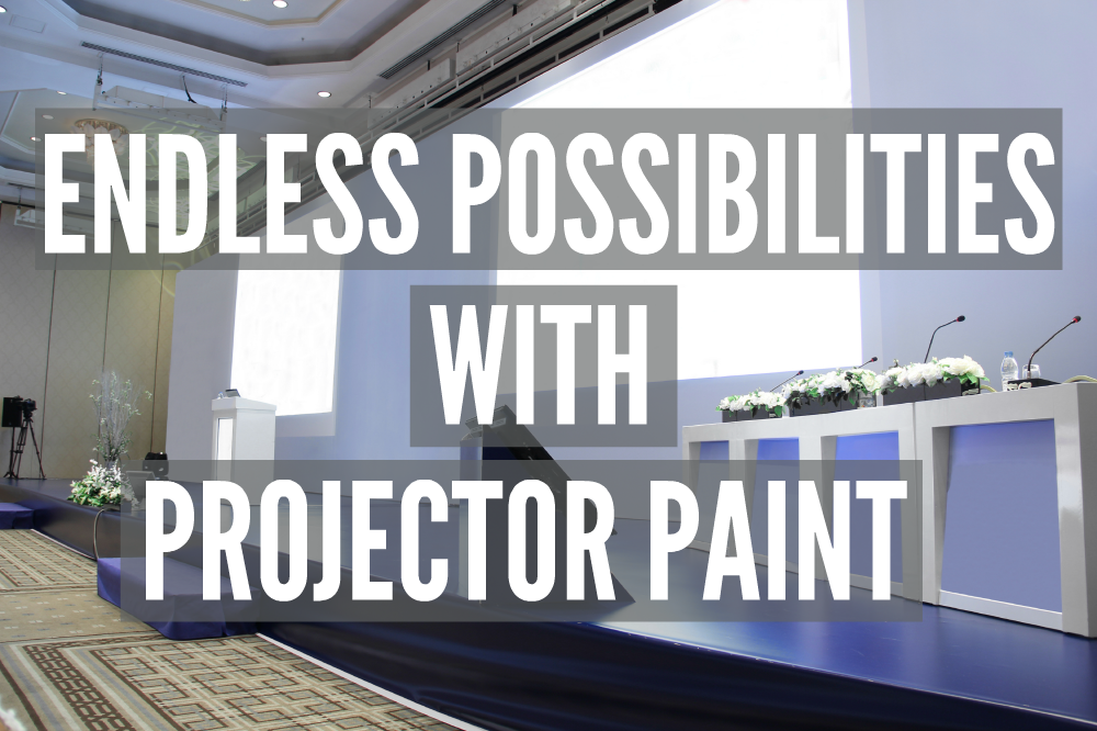 Endless Possibilities with Projector Paint | Smarter Surfaces