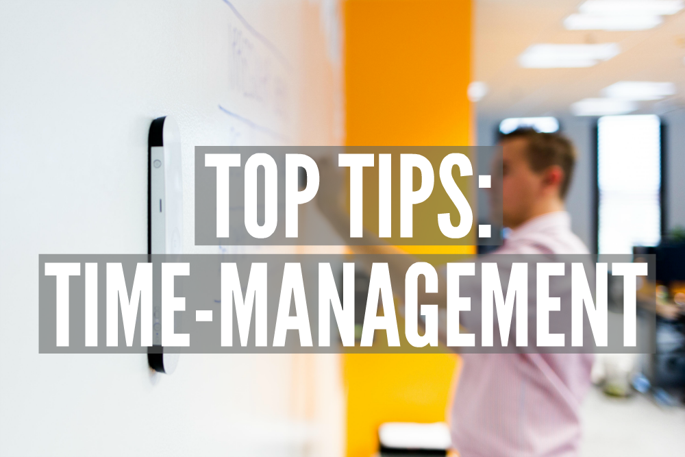 Top Tips: Time Management | Smarter Surfaces