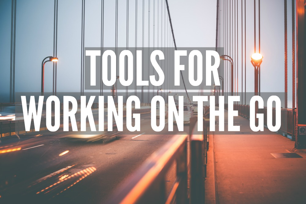 Tools for Working On the Go | Smarter Surfaces
