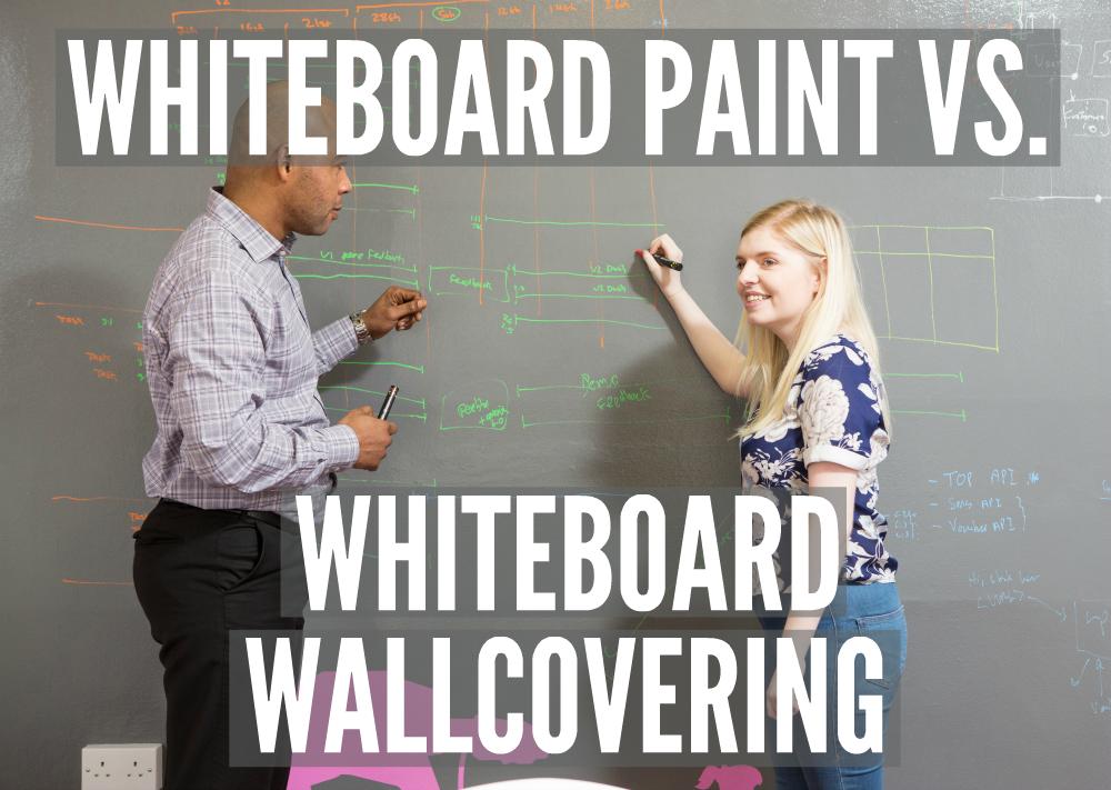 Whiteboard Paint vs. Whiteboard Wallcovering   Smarter Surfaces