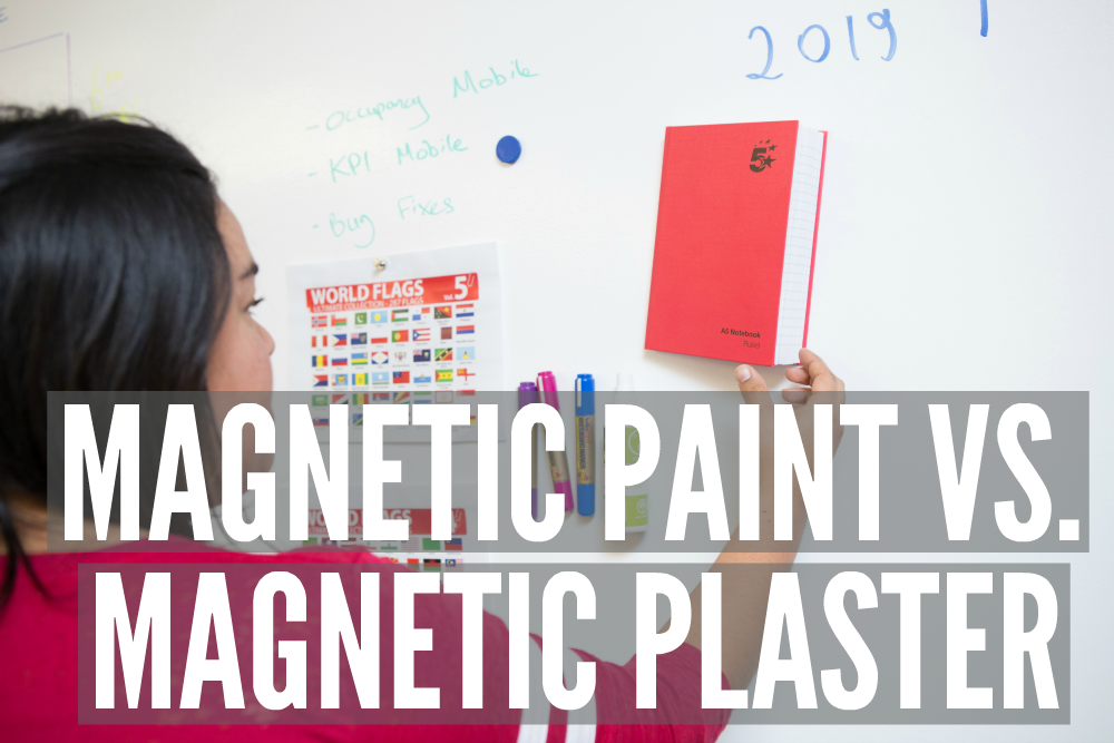 Magnetic Paint vs. Magnetic Plaster | Smarter Surfaces
