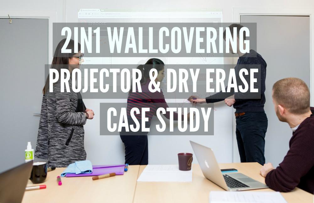 projector & dry erase, customer case study