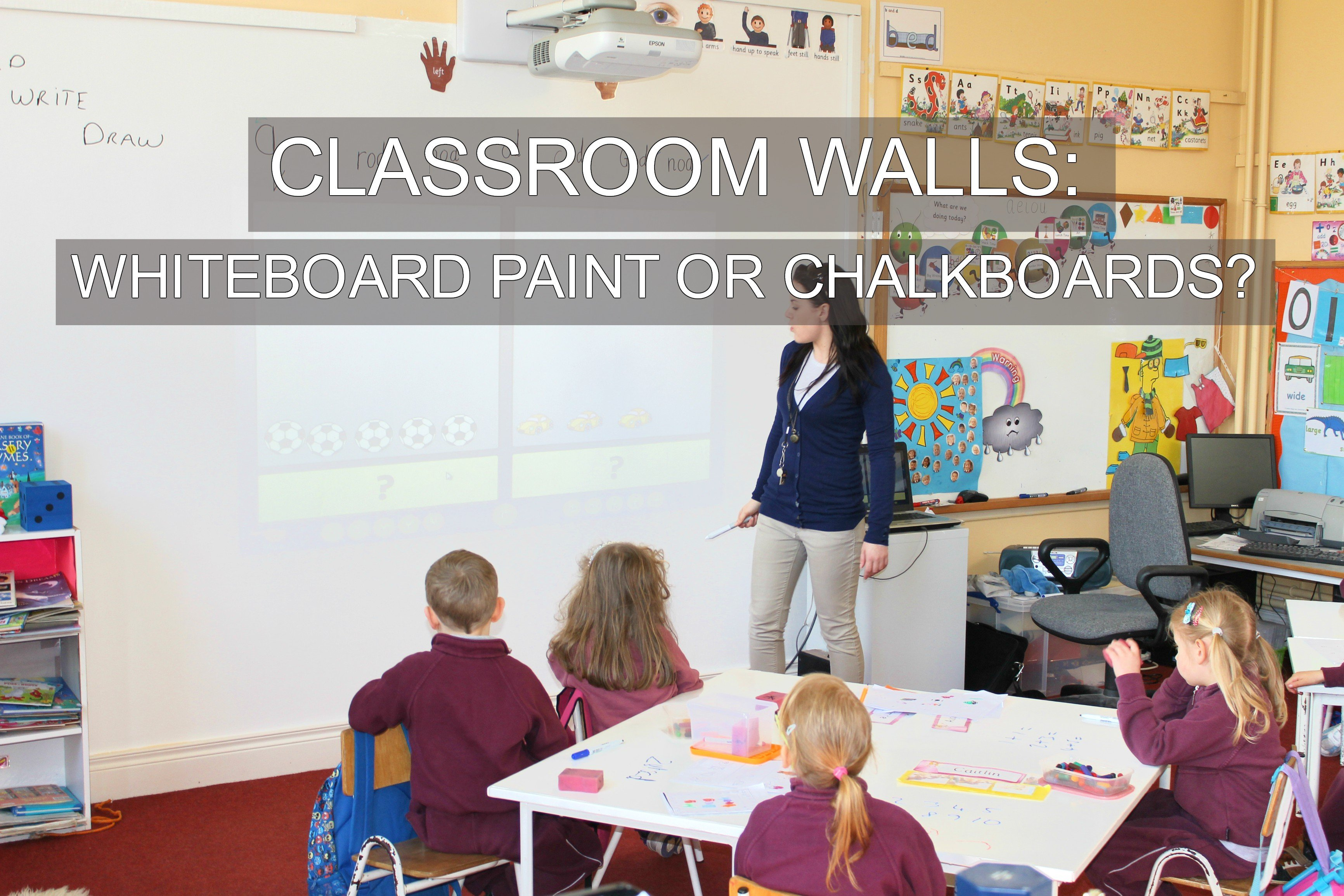 Classroom Walls Whiteboard Paint Or Chalkboards Smarter Surfaces