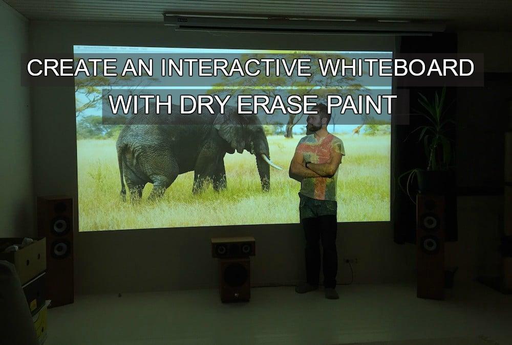 projectorpaintteemufinland, interactive whiteboard
