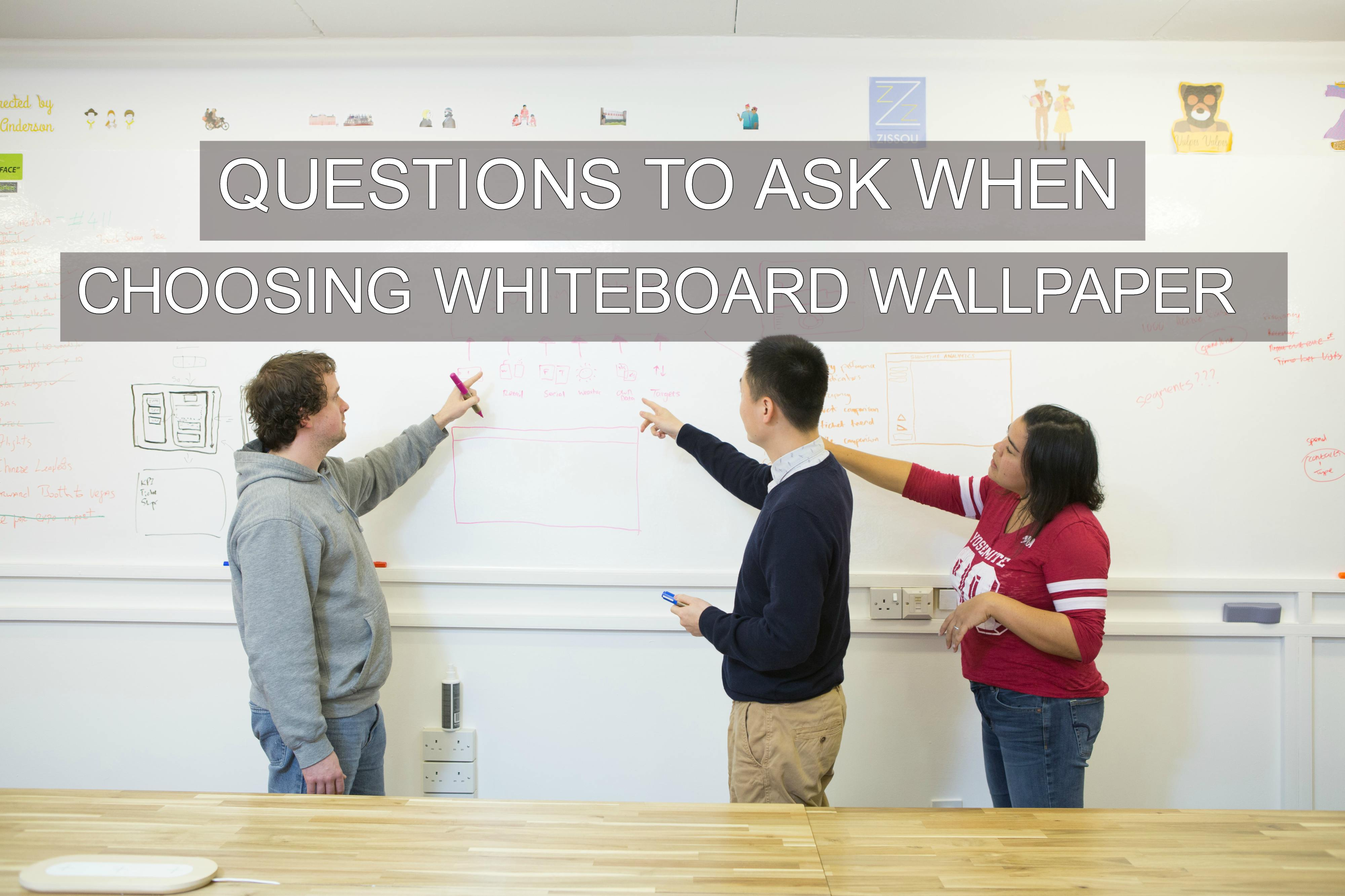 Questions To Ask When Choosing Whiteboard Wallpaper
