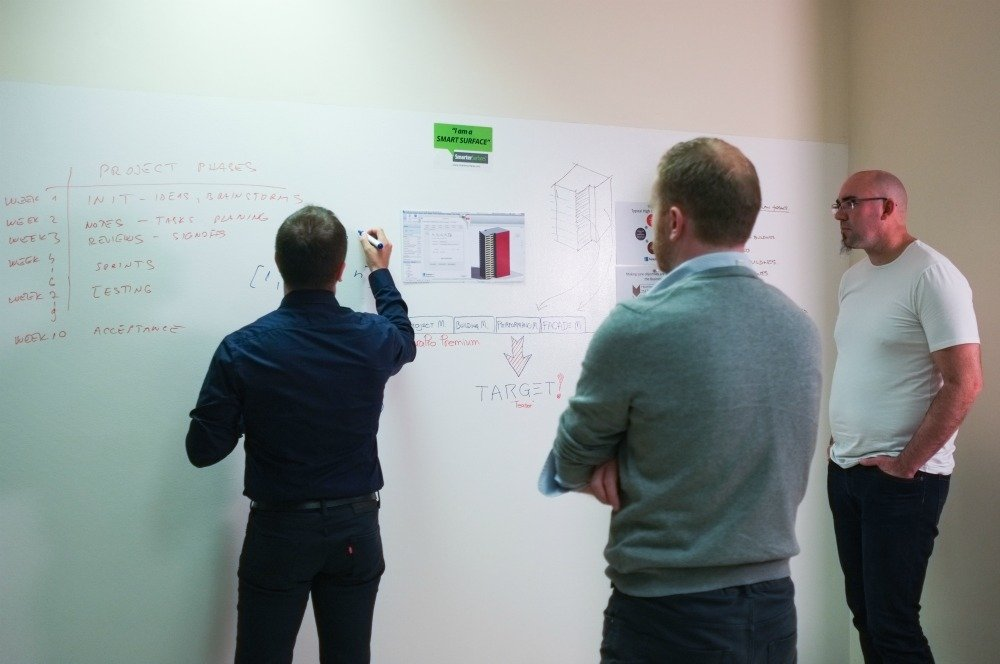 Whiteboard Magnetic, FenestraPro, architects, customer, collaboration 5