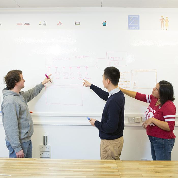 App-design-on-Smart-Whiteboard-Wallpaper-whiteboard-wall