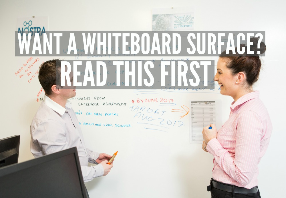 Smarter Surfaces, Magnetic Whiteboard Paint, Nostra, Customer, Writable walls , whiteboard surface
