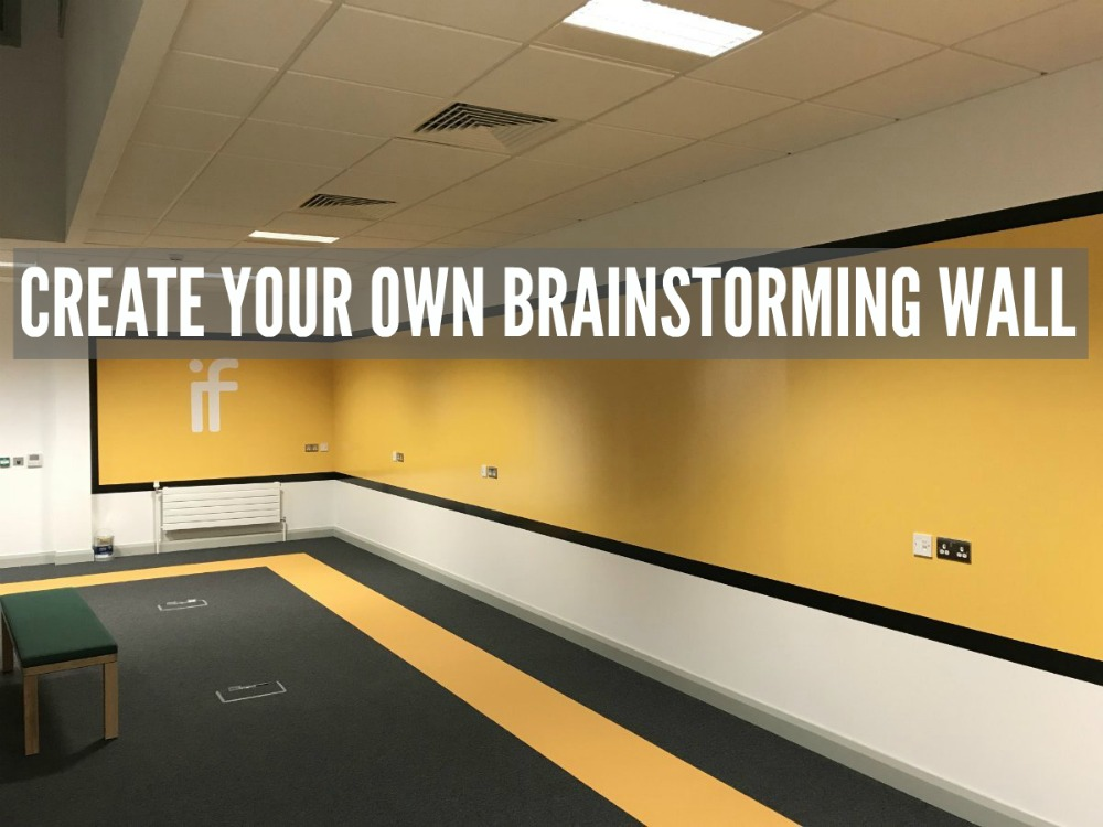 After Smarter Surfaces, brainstorming wall