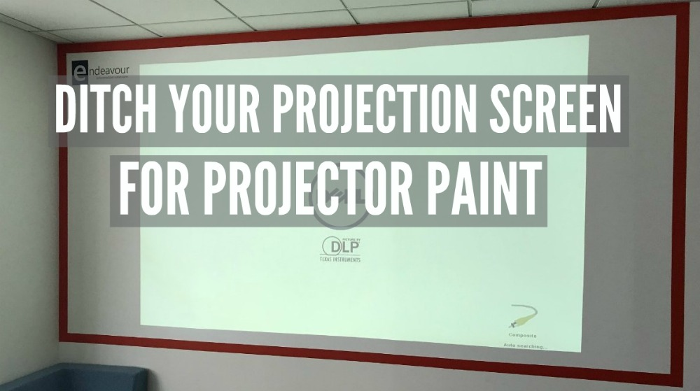 Blog Endeavour and Smarter Surfaces Projectable Wall, PROJECTION