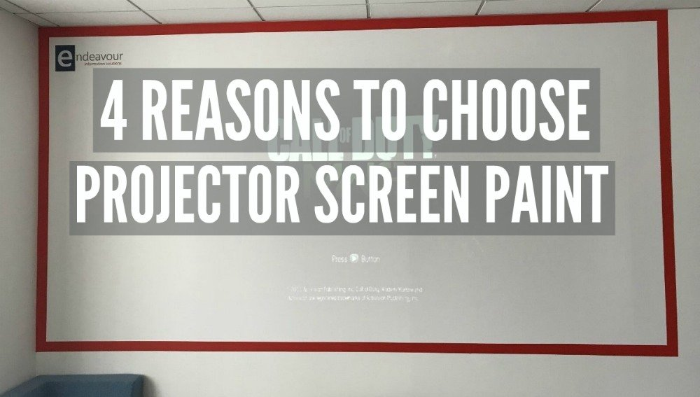 4 Reasons To Choose Projector Screen Paint Smarter