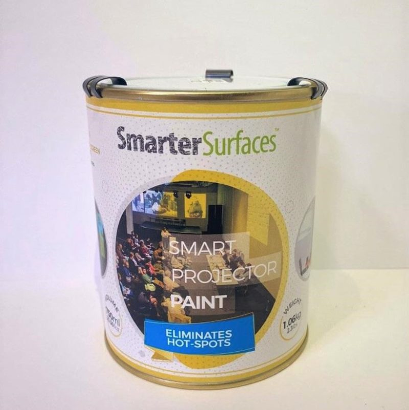 smart projector paint tin