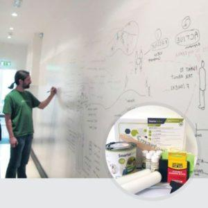 Smart-Whiteboard-Paint-White-product-in-use-and-kit-image