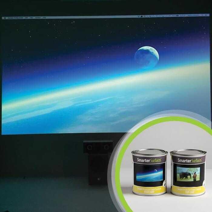 Smart Projector Paint Contrast