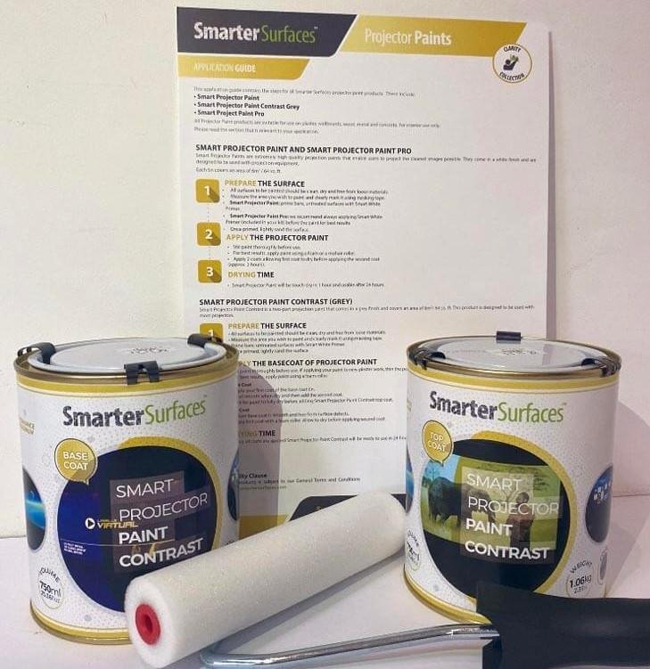 projector paint contrast full kit with app guide 1