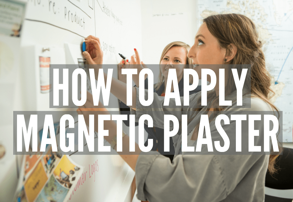 How to apply Magnetic Plaster