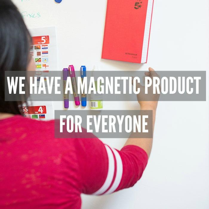 4 magnetic whiteboard planning business analytics