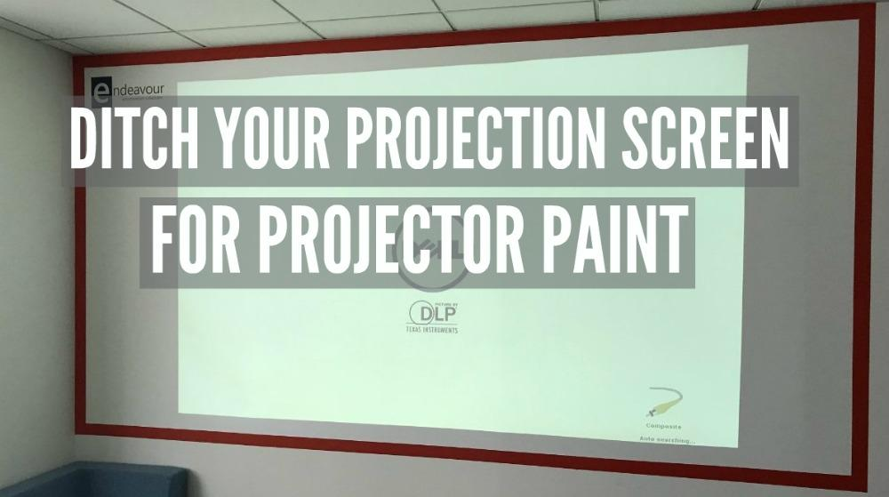 Blog Endeavour and Smarter Surfaces Projectable Wall PROJECTION