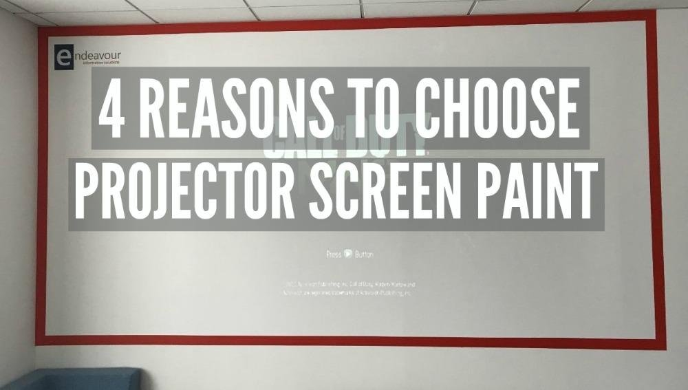 Blog Endeavour and Smarter Surfaces Projectable Wall for gaming PROJECTOR SCREEN PAINT