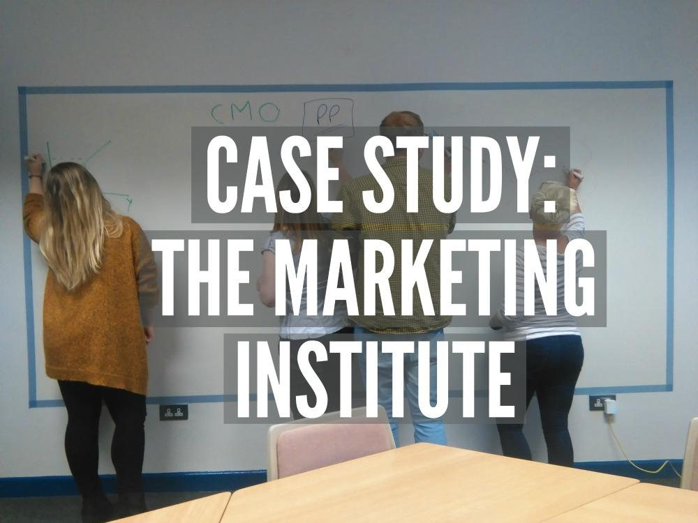 The Marketing Institute using Smarter Surfaces Products