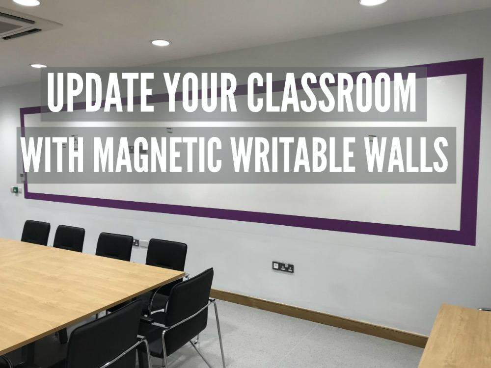 MAGNETIC WRITABLE WALLS