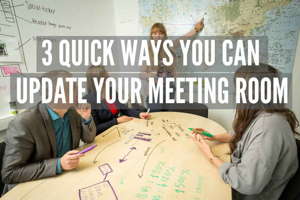 MEETING ROOM. whiteboard paint clear table in board room group meeting planning 1