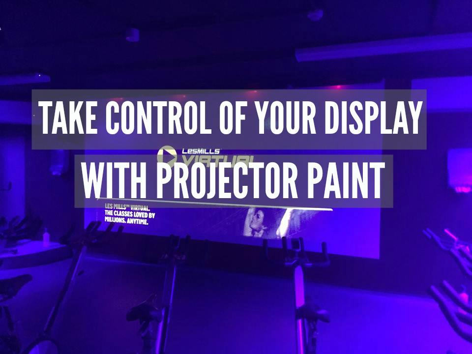 Projector Paint Athlone Sports Centre projector