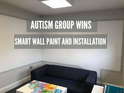 Smart Wall Paint installation