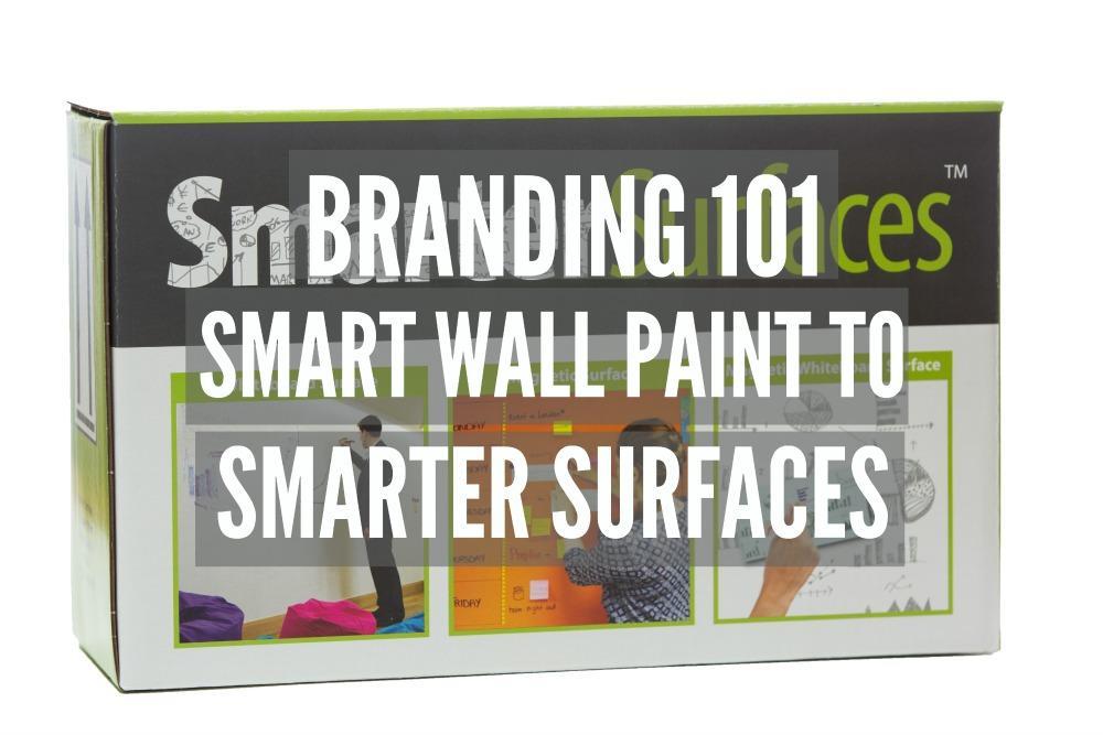 Smarter Surfaces box branding