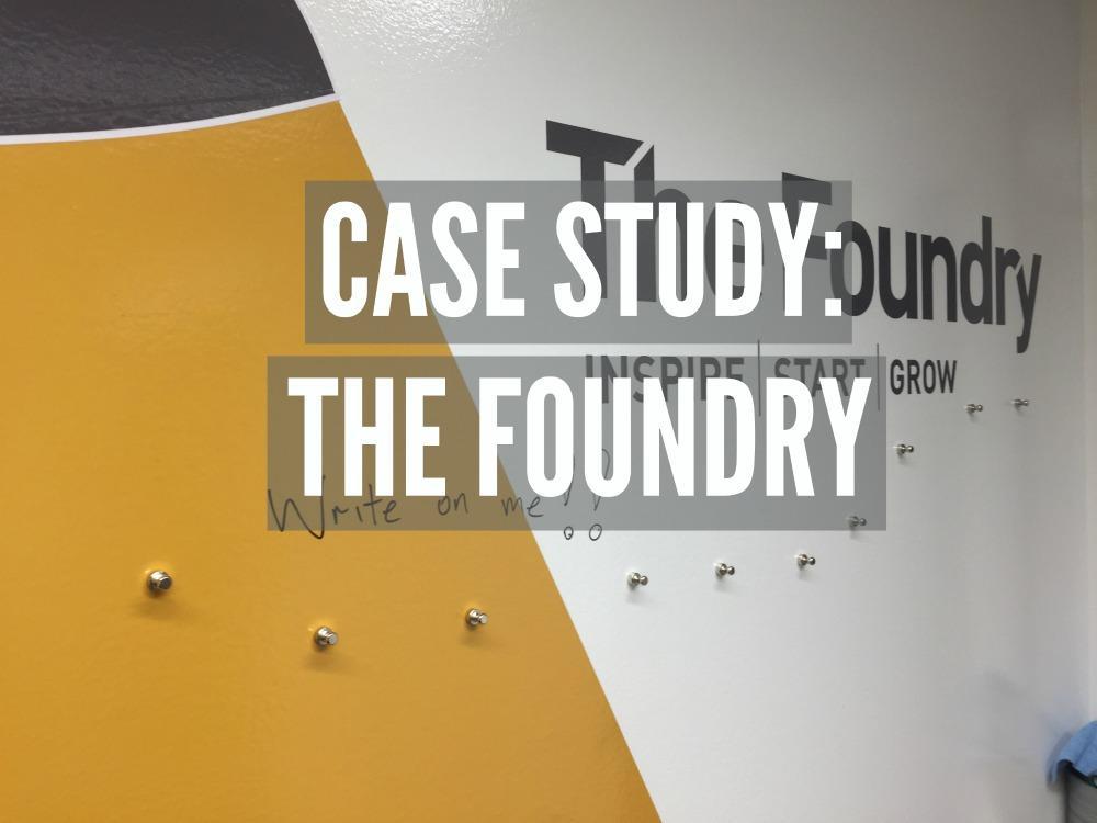 The Foundry Write on logos