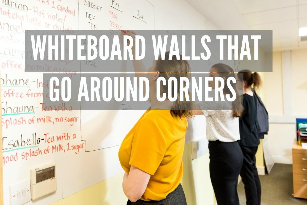 WHITEBOARD WALLS hospitality sales room customer magnetic and dry erase wallcovering 2 in 1 radisson 1