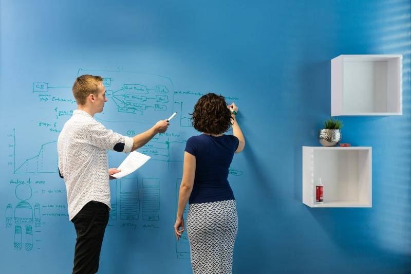 Whiteboard Paint Clear Office Business Distributor Chytra Zed Smarter Surfaces