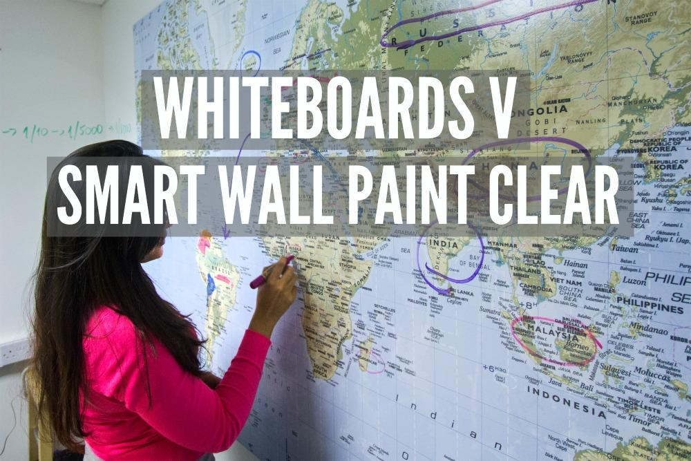 Whiteboard Paint Clear office patricia Map Smart Wall Paint Clear