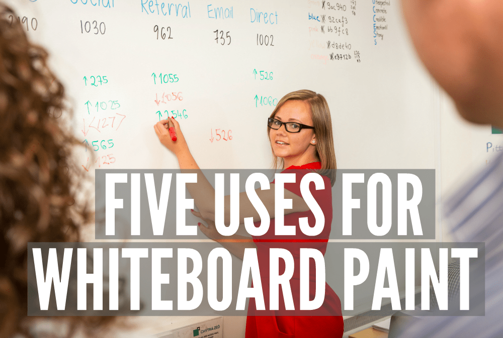 Five uses for Whiteboard Paint
