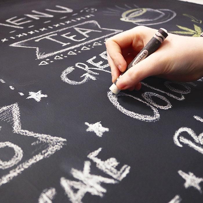 Writing-on-Smart-Chalkboard-Paint-chalkboard-wall
