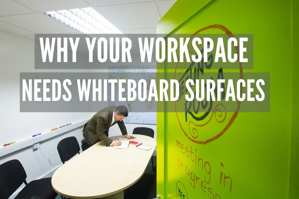 blog Whiteboard Paint. smartersurfaces office Clear meeting room workspace