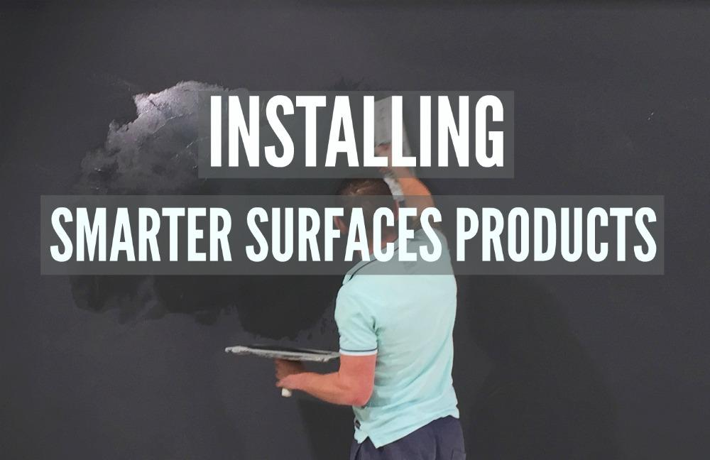 magnetic plaster application Installing
