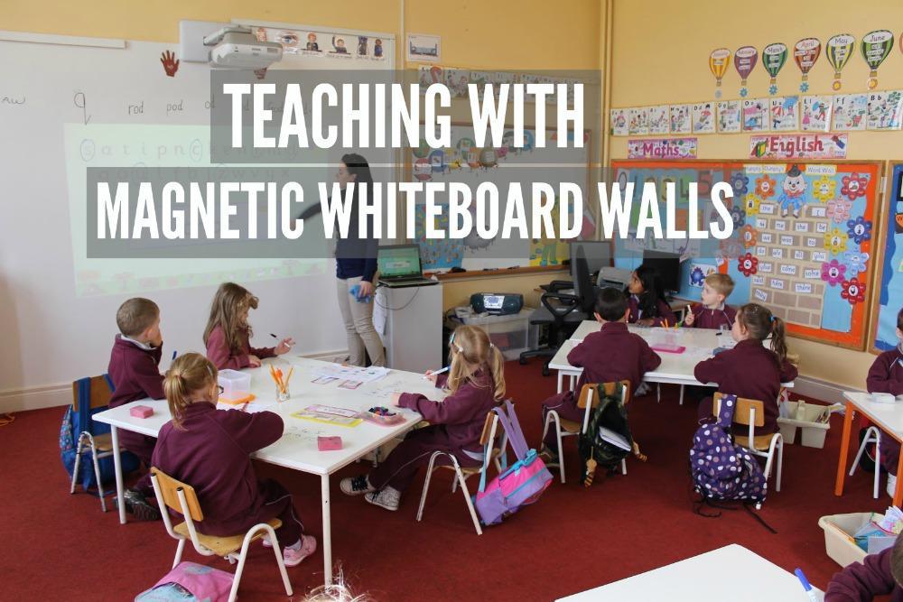 magnetic whiteboard walls