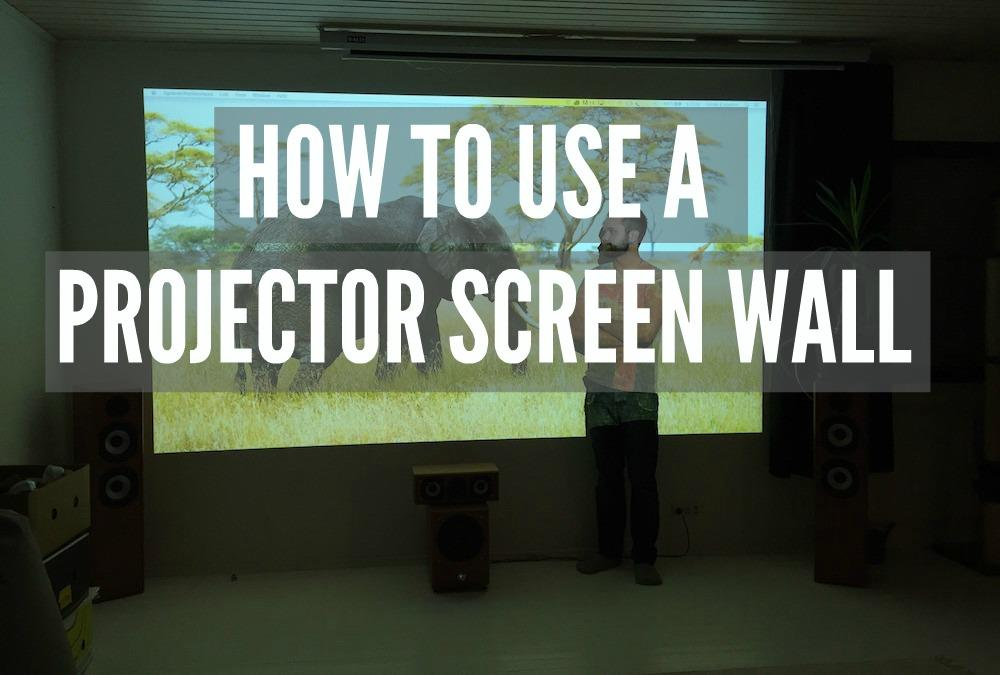 projector paint teemu finland projector screen