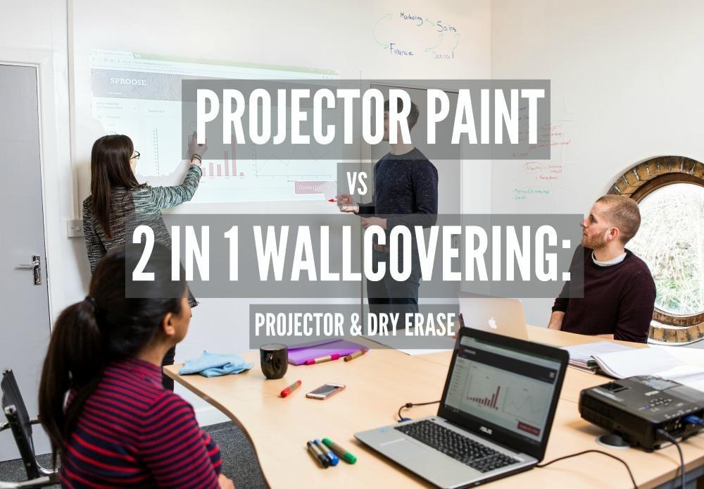 projector whiteboard wallcovering wall business presentation teamwork 2 BLOG