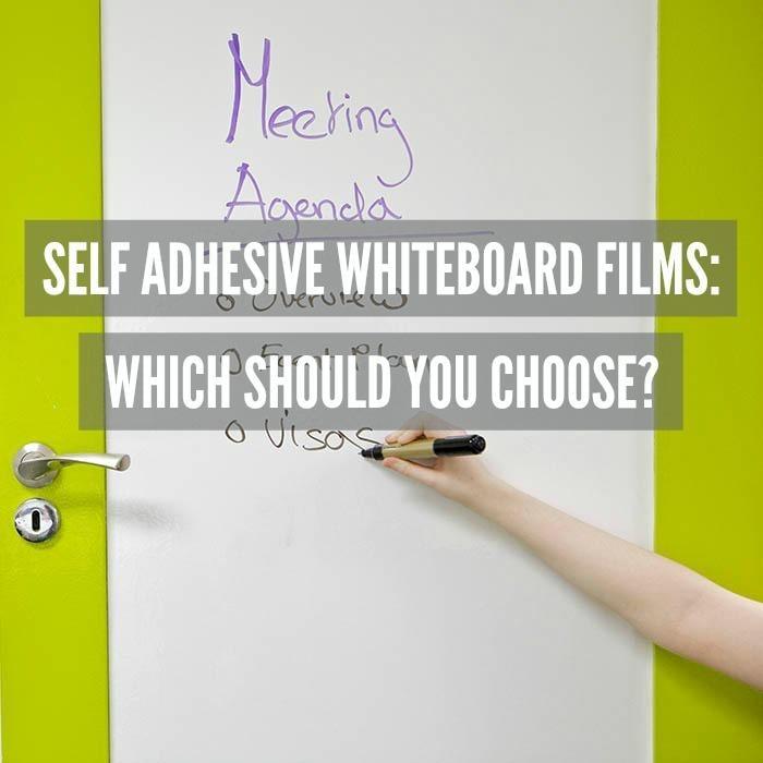 self adhesive whiteboard films