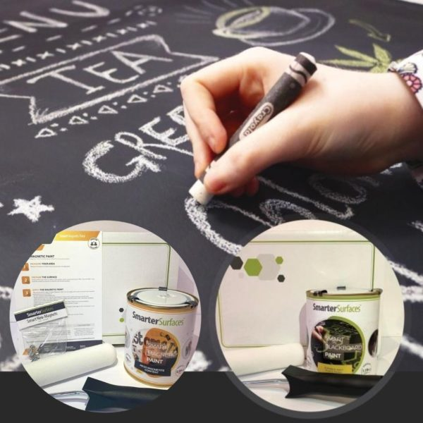 magnetic chalkboard paint smarter surfaces